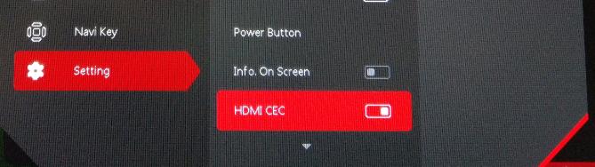 Console Mode – CEC
